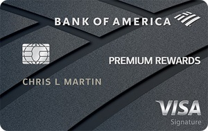 Apply online for Bank of America® Premium Rewards® Visa® credit card