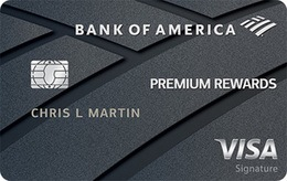 Apply online for Bank of America® Premium Rewards® credit card